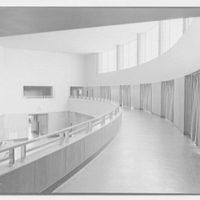 Brooklyn Public Library (Ingersoll Memorial), Prospect Park Plaza, New York. Balcony curve, framed