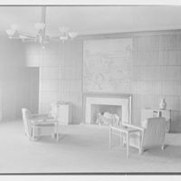 Brooklyn Public Library (Ingersoll Memorial), Prospect Park Plaza, New York. Dr. Ferguson's office, to fireplace II