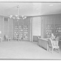 Brooklyn Public Library (Ingersoll Memorial), Prospect Park Plaza, New York. Dr. Ferguson's office, to desk