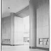 Brooklyn Public Library (Ingersoll Memorial), Prospect Park Plaza, New York. Entrance foyer I