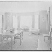 C. Henry Buhl, residence in El Vedado, Palm Beach, Florida. Dining room, to window