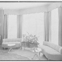 C. Henry Buhl, residence in El Vedado, Palm Beach, Florida. Dining room, window detail