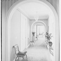 C. Henry Buhl, residence in El Vedado, Palm Beach, Florida. Gallery, long shot