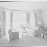 C. Henry Buhl, residence in El Vedado, Palm Beach, Florida. Living room window I