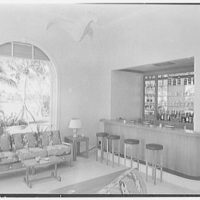 C. Henry Buhl, residence in El Vedado, Palm Beach, Florida. Pavilion interior III