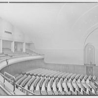 Cardinal Hayes Memorial High School, Grand Concourse, Bronx, New York. Auditorium VI, view from balcony