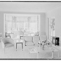 Caryll Tucker, residence in Hobe Sound, Florida. Living room