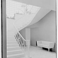 Caryll Tucker, residence in Hobe Sound, Florida. Staircase