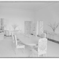 Commodore Louis Beaumont, residence on County Rd., Palm Beach, Florida. Dining room II