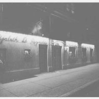 Elizabeth D. Reynolds, business at 132 E. 48th St., New York City. General view at night