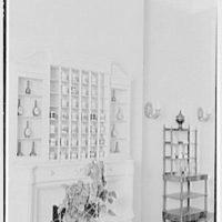 Gourielli Apothecary Shop, 16 E. 55th St., New York City. Blue room, mug rack I