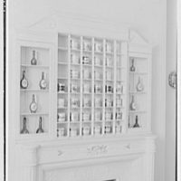 Gourielli Apothecary Shop, 16 E. 55th St., New York City. Blue room, mug rack II