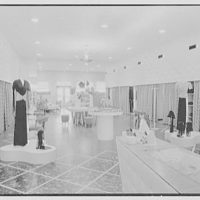 H.E. Brown Co., business at 833 Franklin Ave., Garden City, Long Island. Interior, center aisle