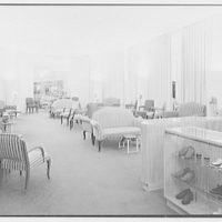 I. Miller shoe store, business at 450 5th Ave., New York City. General view of new salon