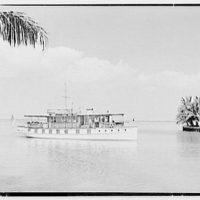 J.J. Archbold, 2830 Sunset Ave., Sunset Island, no. 1, Miami Beach, Florida. Boat exterior