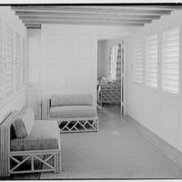 John Wentworth, residence at 2817 Lake Ave., Sunset Island, no. 1, Miami. Bridge