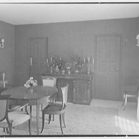 John Wentworth, residence at 2817 Lake Ave., Sunset Island, no. 1, Miami. Dining room