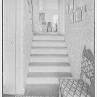 Mrs. Archer H. Brown, residence on Fairfield Ave., Greenwich, Connecticut. Entrance hall
