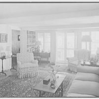 Mrs. Archer H. Brown, residence on Fairfield Ave., Greenwich, Connecticut. Living room I