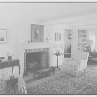 Mrs. Archer H. Brown, residence on Fairfield Ave., Greenwich, Connecticut. Living room II
