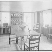 Mrs. Colin Ingersoll, residence in Salisbury, Connecticut. Dining room II