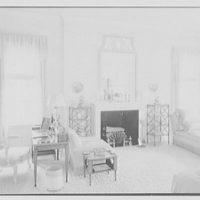 Mrs. H. Mercer Walker, residence in El Vedado, Palm Beach, Florida. Mrs. Walker's bedroom, to fireplace