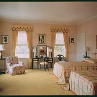 Mrs. H. Mercer Walker, residence in Palm Beach, Florida. Guest room