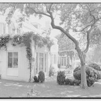 Mrs. Nicholas Rutgers, residence on Navesink Rd., Red Bank, New Jersey. Rear facade I
