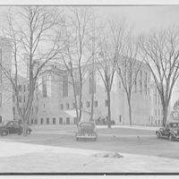 National Fire Group, Hartford, Connecticut. Rear facade, over parking space, II