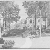 Ned Morris residence. Garden of Ned Morris house I