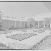Norton Gallery and School of Art, West Palm Beach, Florida. Loggia II and patio