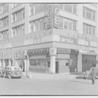 Paris Decorators, business at 2430 Grand Concourse, New York City. Exterior, from corner