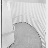 Paris Decorators, business at 2430 Grand Concourse, New York City. Staircase down II