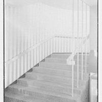 Paris Decorators, business at 2430 Grand Concourse, New York City. Staircase up