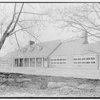 Pleasant Ridge School, Harrison, New York. East facade