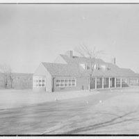 Pleasant Ridge School, Harrison, New York. Exterior I
