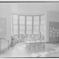 Pleasant Ridge School, Harrison, New York. Kindergarten room I