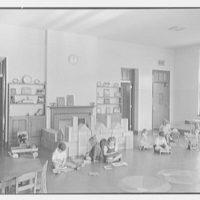 Pleasant Ridge School, Harrison, New York. Kindergarten room II