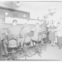 Potomac Electric Power Co. Building. Air raid equipments and personnel VIII
