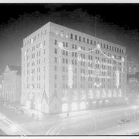 Potomac Electric Power Co. Building. PEPCO Building, night I