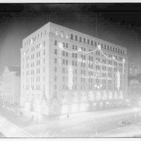 Potomac Electric Power Co. Building. PEPCO Building, night II
