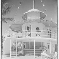 Raleigh Hotel, Collins Ave., Miami Beach, Florida. Snack bar I
