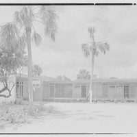 Robert Glassford, residence in Hobe Sound, Florida. Entrance court view II