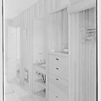 Robert Glassford, residence in Hobe Sound, Florida. Guest room type I, view of facilities