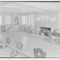Rodney E. Boone, residence on Elderfield Rd., Manhasset, Long Island. Bar room