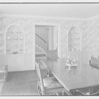 Rodney E. Boone, residence on Elderfield Rd., Manhasset, Long Island. Dining room