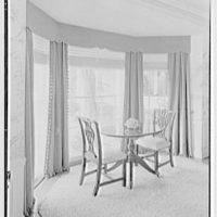 Rufus W. Scott, residence on Via Del Lago, Palm Beach, Florida. Dining room window