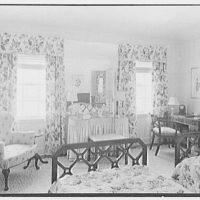 Rufus W. Scott, residence on Via Del Lago, Palm Beach, Florida. Guest room