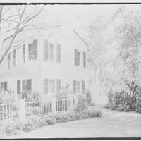 Rufus W. Scott, residence on Via Del Lago, Palm Beach, Florida. West end of house
