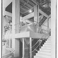 Schaefer Brewing Co., Kent Ave., Brooklyn, New York. Addition to brew house interior